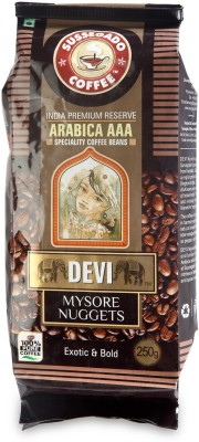 Devi Mysore Nuggets Arabica AAA Filter Coffee 250 g(Pack of 1 Unflavoured Flavored)