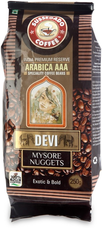 Devi Mysore Nuggets Arabica AAA Filter Coffee 250 g Vacuum Pack