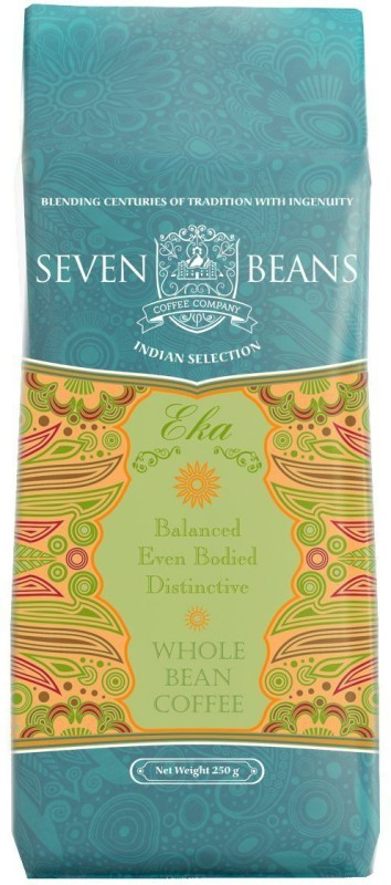Seven Beans Eka Whole Filter Coffee 250 g Bag