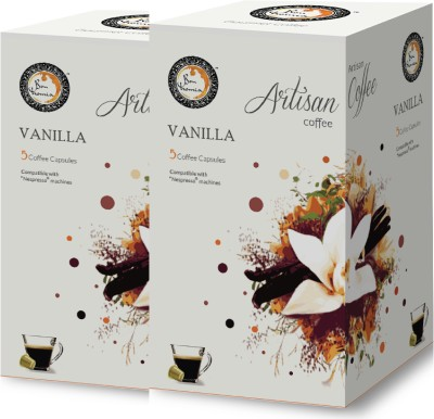 Bonhomia Vanilla Filter Coffee 20 Sachets(Pack of 2 Vanilla Flavored)