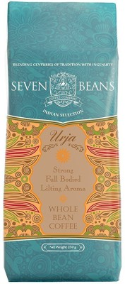Seven Beans Urja Whole Instant Coffee 250 g(Pack of 1 Plain Flavored)