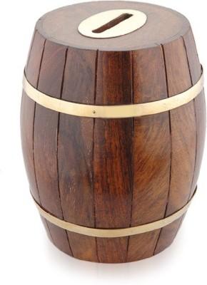 Jupiter Gifts And Crafts Barrel Coin Bank