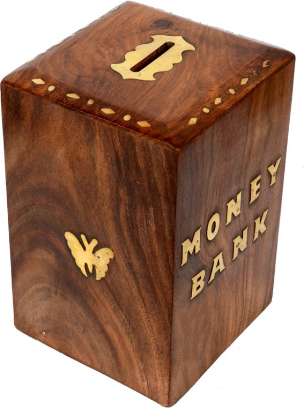 urban style emporium money bank Coin Bank(Brown)