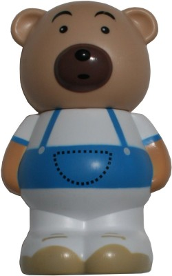Standing Teddybear Piggy Coin Bank