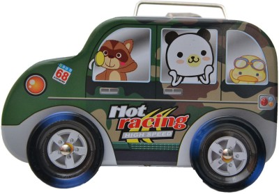 Happy Kid Car Modal Coin Bank(Multicolor)