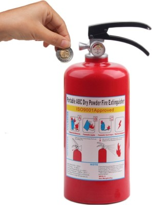 BonZeal Fire Extinguisher Coin Bank