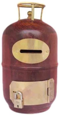 Mayur enterprises Maroon Piggy Bank Coin Bank