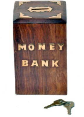 Onlineshoppee Money Bank With Handicraft Design Coin Bank