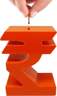 Tuelip Rupee Coin Bank(Orange)