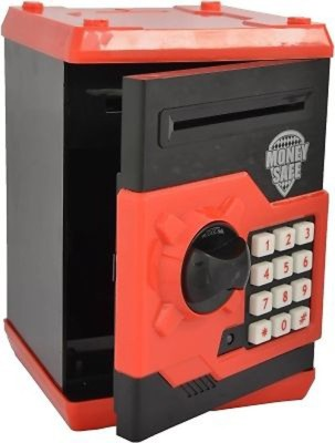Divinext Money Safe Electronic Locker Coin Bank(Multicolor)