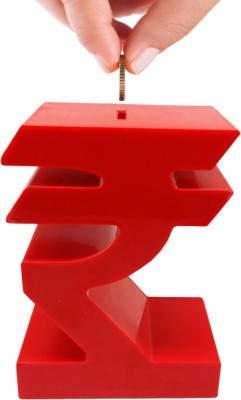 Tuelip Rupee Coin Bank(Red)