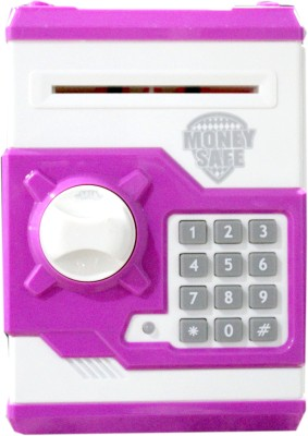 Scrazy ATM Machine Money Safe Coin BanK Coin Bank