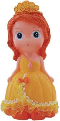 Tootpado Princess Cute Doll - 1j272 - Toy Piggy Kiddy Money Coin Bank