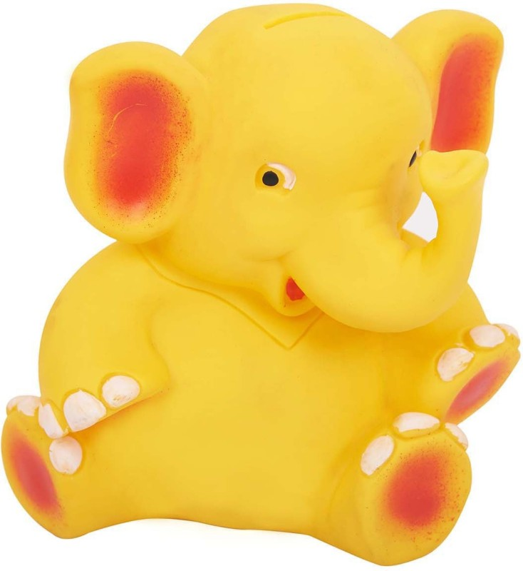 Funworld Appu Coin Bank(Yellow)