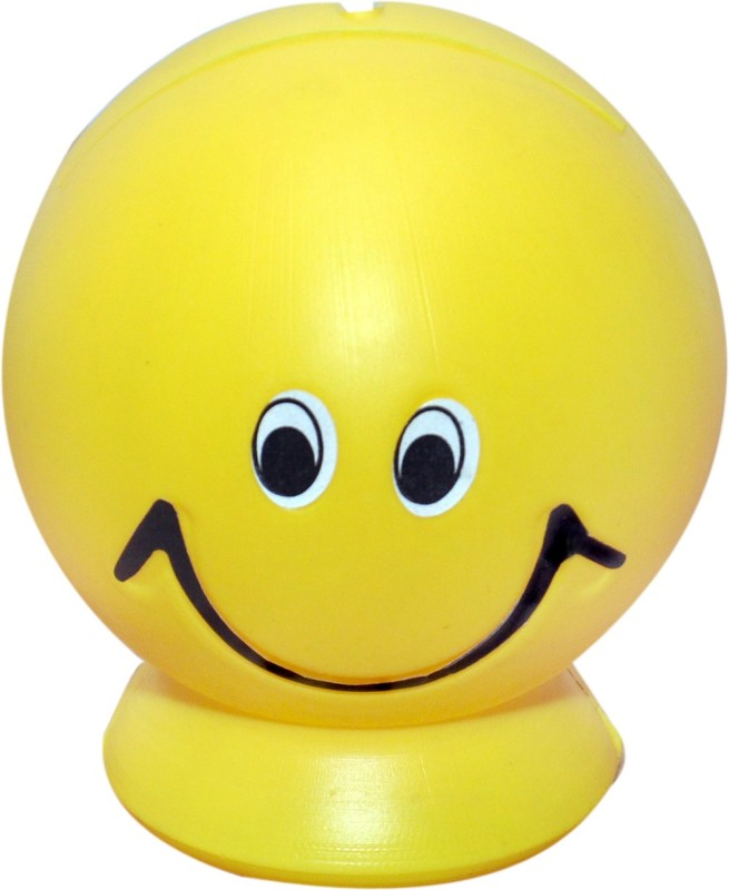 GA Toyz Smiley Money Pot Coin Bank(Yellow)