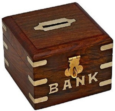 Jupiter Gifts And Crafts Rectangular box Coin Bank