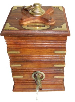 limra handicrafts wooden bank Coin Bank