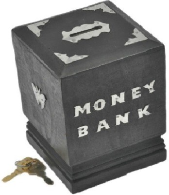 You2deal Wooden Handicraft Antique Style Children Gift Item Lag Coin Bank