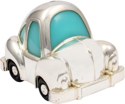 JewelandGifts Designer Silver Plated Car Coin Bank