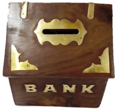 Craftmansion House Style Coin Bank