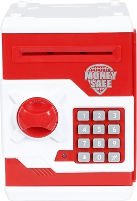 Jumbo Money Safe Coin Bank(Multicolor)