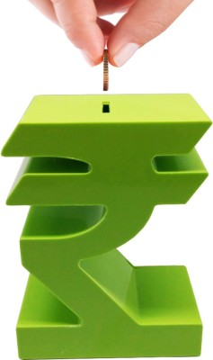 Tuelip Rupee Coin Bank(Green)