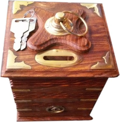 R R HANDICRAFT Coin Box 1 Coin Bank
