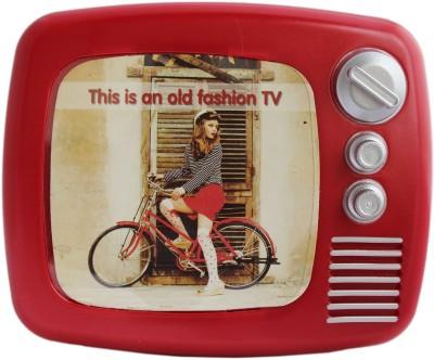 Tootpado Retro Style Tv With Photo Frame Piggy Kiddy Savings Money Coin Bank