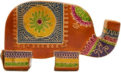 Karukraft Elephnat Coin Bank(Orange)