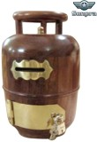 Sonpra Wooden Gas Cylinder Coin Bank (Br...