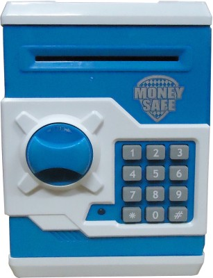 Gift-Tech Money Safe with Electronic Locks Coin Bank