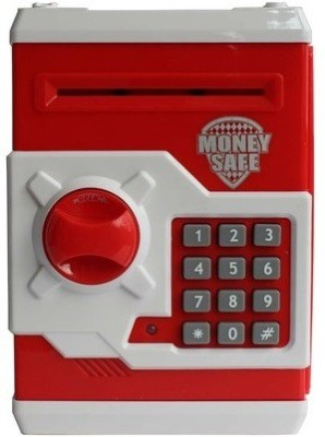 CraftWorld Savings Money Safe Coin Bank(Red)