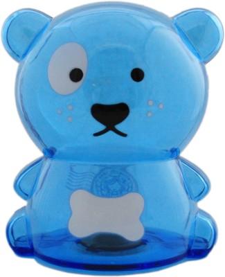 Tootpado Bear Design Piggy 1j276 - Transparent Money Savings Kiddy Toy Coin Bank