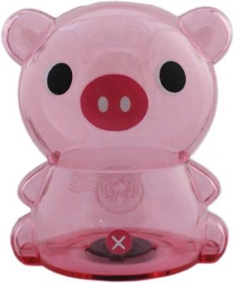 Tootpado Pig Design Piggy 1j277 - Transparent Money Savings Kiddy Toy Coin Bank