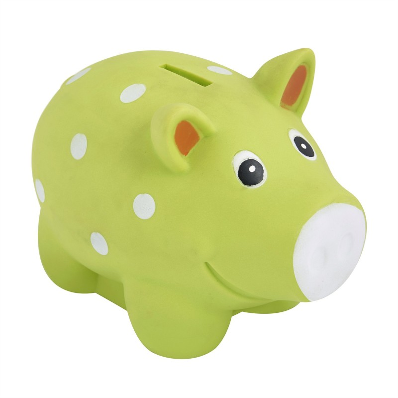 Funworld Pig Coin Bank(Green)