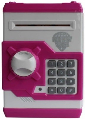 CraftWorld Savings Money Safe Coin Bank(Pink)