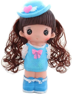 Tootpado Cute Doll With Hat 1j217 Toy Piggy Kiddy Money Coin Bank