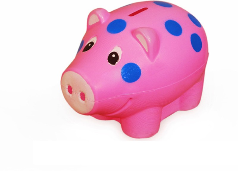 Speedage Piggy Popular Coin Bank(Multicolor)
