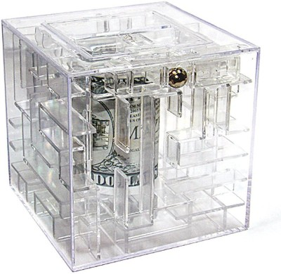 BonZeal Maze Piggy Coin Bank