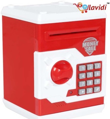 LAVIDI Money Safe with ATM Pin Lock Coin Bank