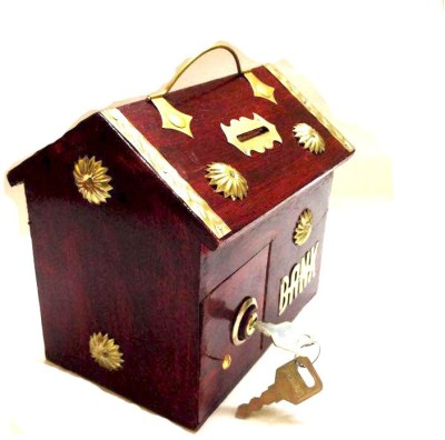 Alishba Alish-red money bank Coin Bank