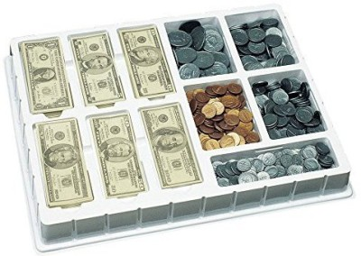Educational Insights Play Money - Deluxe Coin Bank