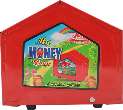 Lovely Collection My Money House Coin Bank