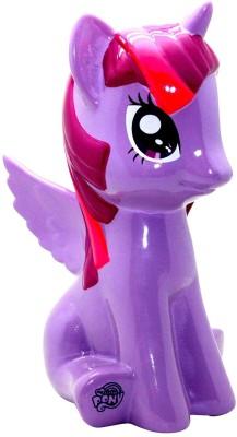 Hasbro My Little Pony Twilight Sparkle Bank Coin Bank(Purple, Pink)