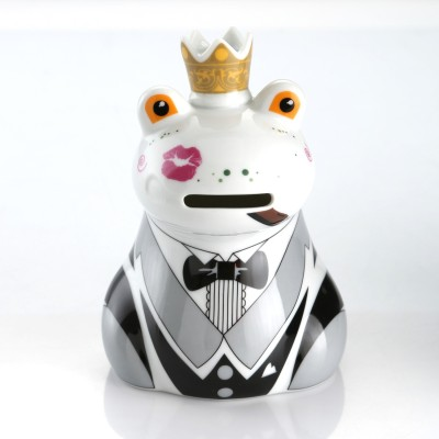 Multiple Choice Frog Prince Coin Bank