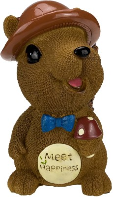 ANNI CREATIONS Prince Squirell Coin Bank