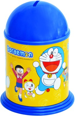 Buddyz Set of 2 - Doraemon Stickerized Coin Bank