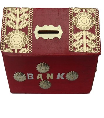 HANDICRAFT HAND CRAFTED ATTRACTIVE DESIGN Coin Bank