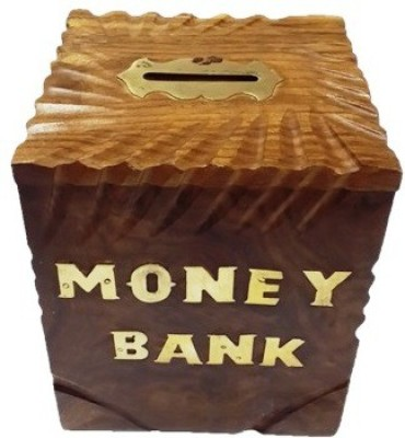 Craftmansion Box Style Coin Bank