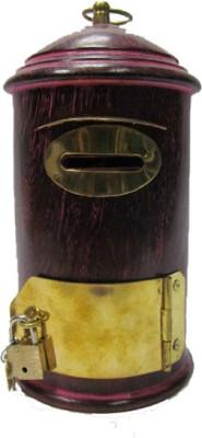 S C Handicrafts Box Coin Bank